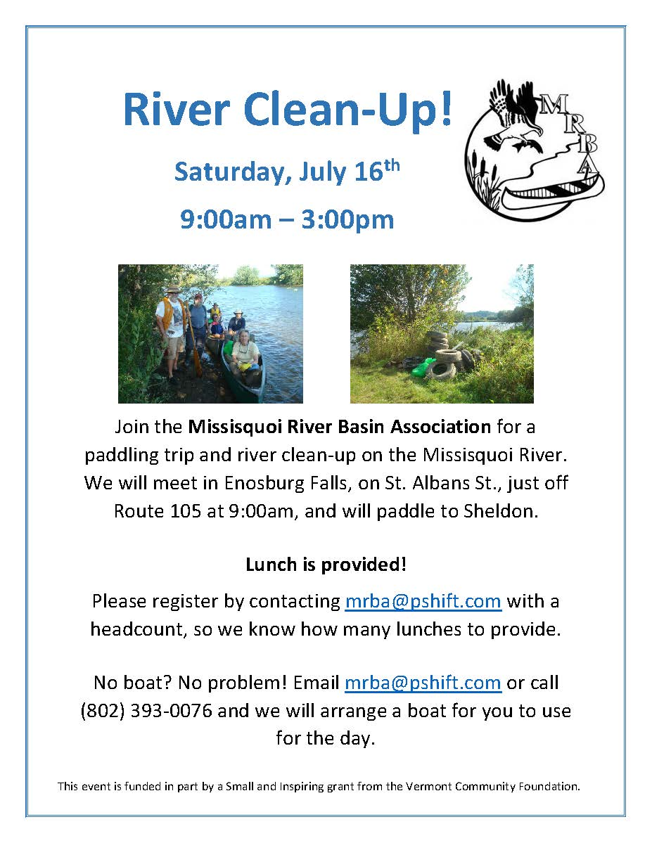 River Clean-Up Flyer