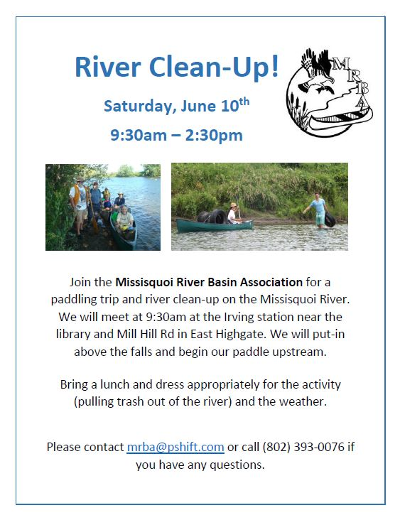 River Clean-Up Flyer 2017